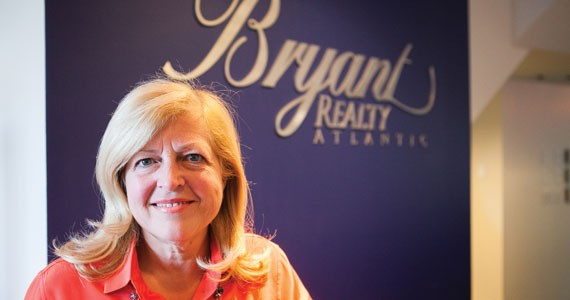 Sandra Bryant bought a and renovated a building with a friend. - SCOTT BLACKBURN