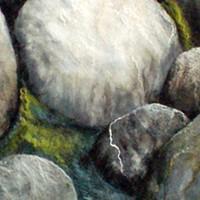 "Sanna Rahola's ""Exposed II"" stone close-up."