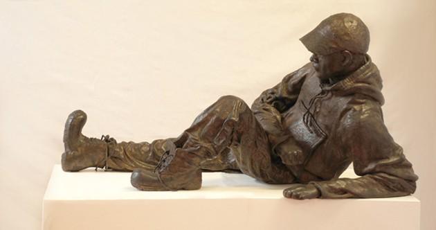 Sculpture by Kristie Sheehy.