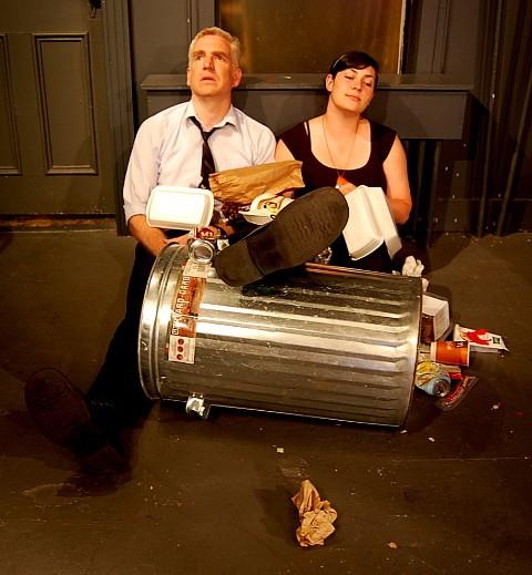 Shawn Duggan as Ray and Kathryn McCormack as Una in Blackbird.