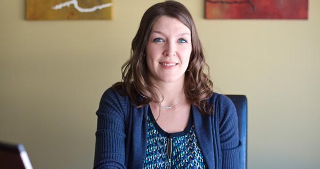 "Shawna Snair helps buyers avoid being ""house poor"". - JESSICA EMIN"