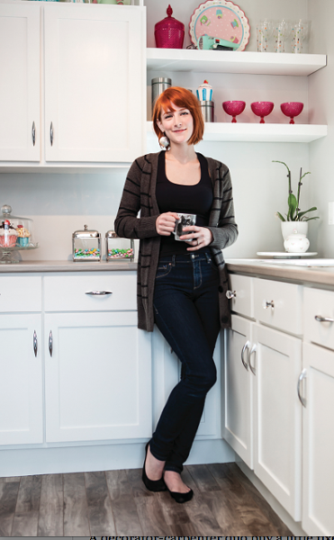 Shay in her bitchin' kitchen - PHOTO BY RILEY SMITH