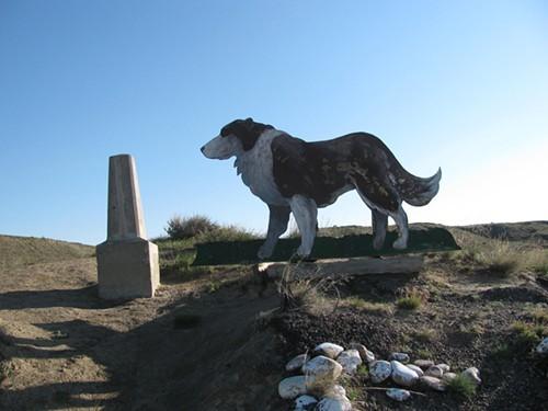 Sheps grave above Fort Benton