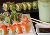 Shining sushi