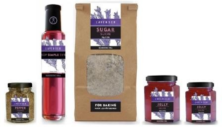 Sledding Hill's lavender products