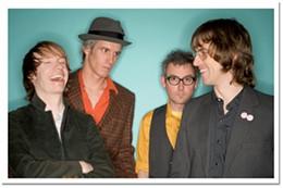 Sloan train a-comin' Jay Ferguson, Andrew Scott, Patrick Pentland and Chris Murphy rock it Hali-style.