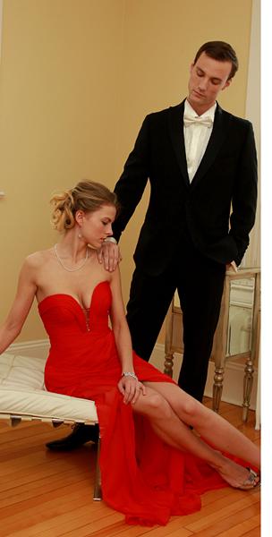 Smile! Custom formalwear is a scan away.