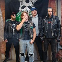 Spew's heavy metal Halloween album release sprinkles you with punk dust