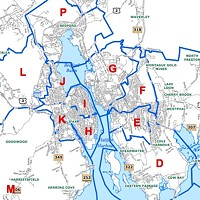 Staff recommends District Boundary Scenario 1, with revisions