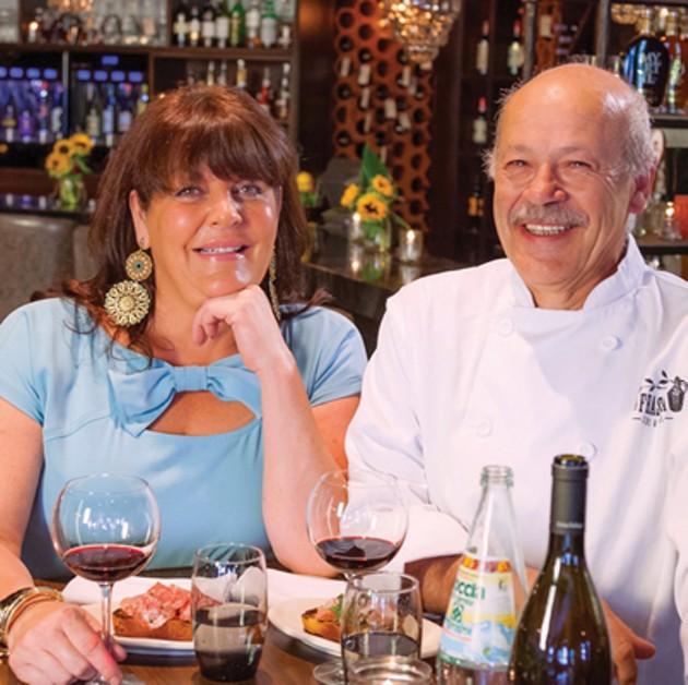 Stephanie and Maurizio Bertossi