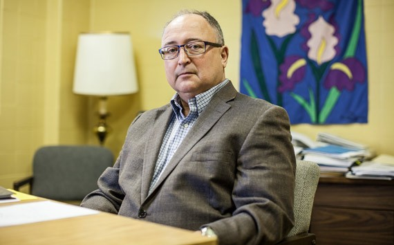 Stephen Ayer, executive director at the Schizophrenia Society of NS. - RILEY SMITH