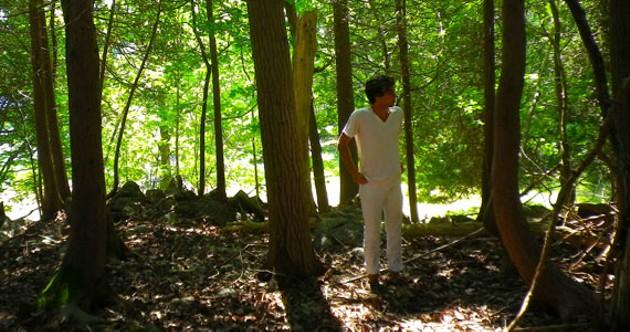 Stephenson is a woodland man.