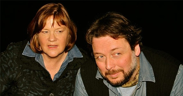 Susan Stackhouse and Jeremy Webb give masterful performances, - playing over 30 characters between them.