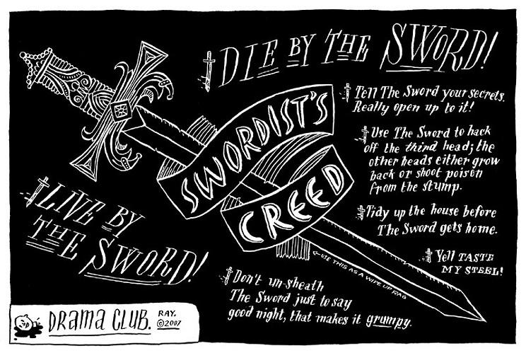 Swordist's Creed