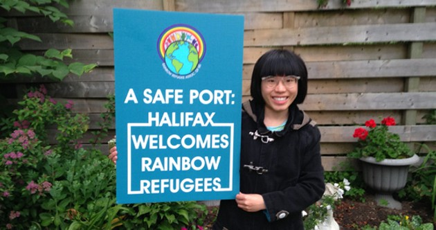 Tan-Nee Ng, board member of Rainbow Refugee Association of Nova Scotia.