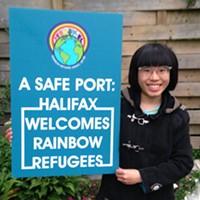 Tan-Nee Ng, board member of Rainbow Refugee Association of Nova Scotia.