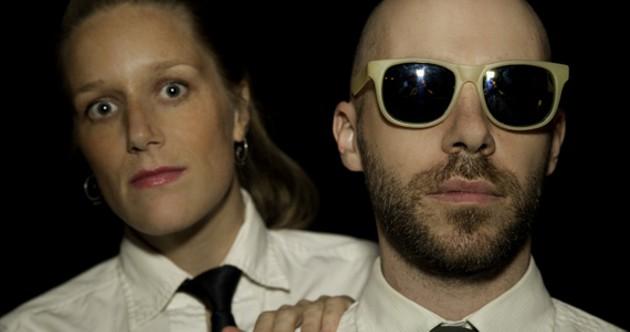 Tara Patriquin and Richie Wilcox make a good Eurythmics team. - KRISTA LEGER