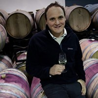 Thank winemaker Simon Rafuse, and good weather, for Blomidon's new chardonnay.