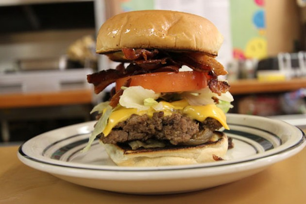The almighty Westcliff burger