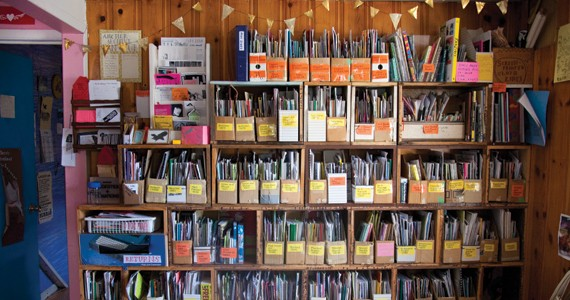 The Anchor Archive Zine Library at the Roberts Street Social Centre is a great resource. - KRISTA LEGER