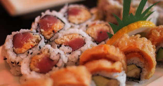 The bananayama roll is a tempting combo of sweet and creamy flavour.