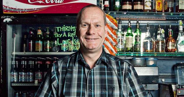 The bar owner David Landry - LENNY MULLINS