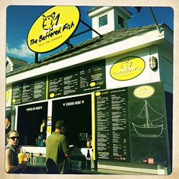 The Battered Fish, take out fish & chips on the Halifax, Nova Scotia waterfront