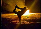 The bright light at Darkside Yoga
