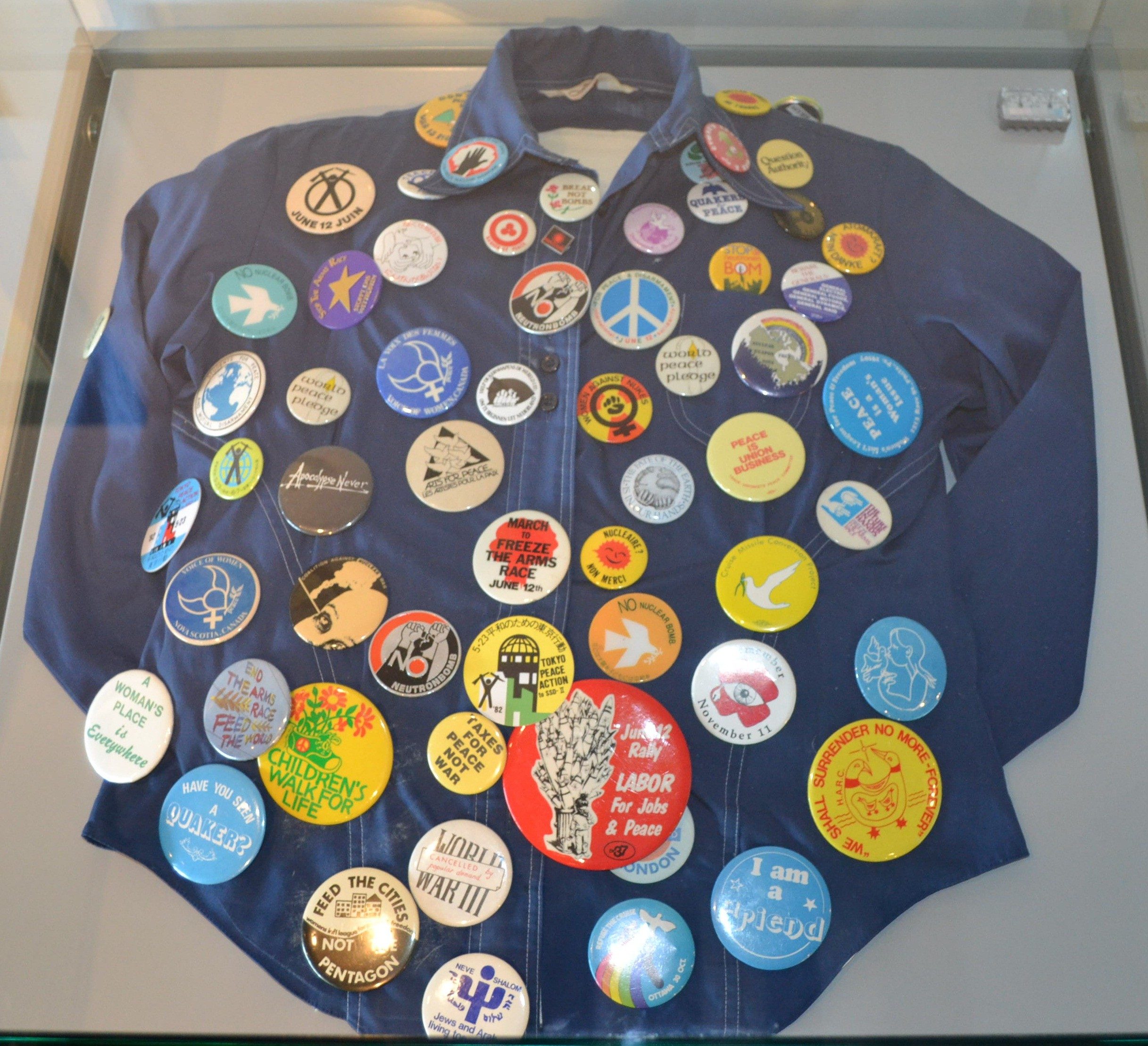 Buttons for peace: A Q&A with Betty Peterson | City