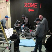 The crew of Bunker 6 gets in the zone.