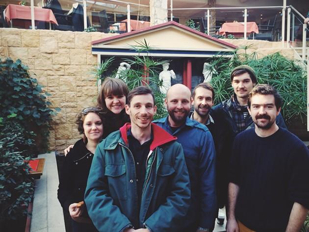 The gang gets together for the Rolling Stone Weekender - ALEXANDER HANKE