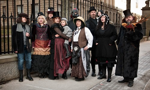 The Jules Verne Phantastical Society brings the fun downtown. - KRISTA COMEAU
