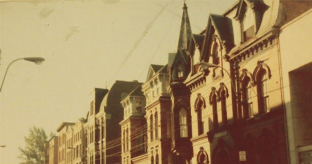 The Khyber building on Barrington in the 1970s. - KHYBER CENTRE FOR THE ARTS