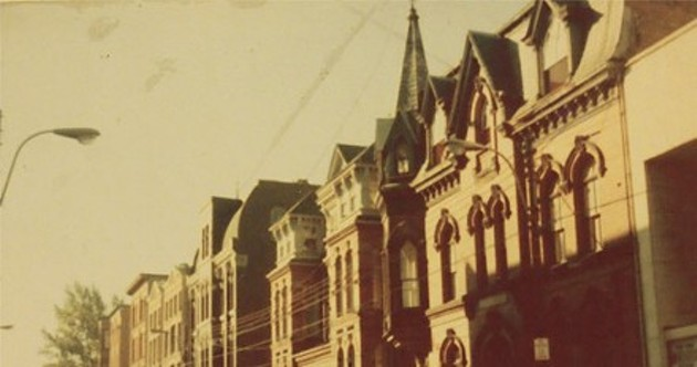 The Khyber building on Barrington in the 1970s - KHYBER CENTRE FOR THE ARTS