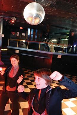 The legendary Reflections dance floor.