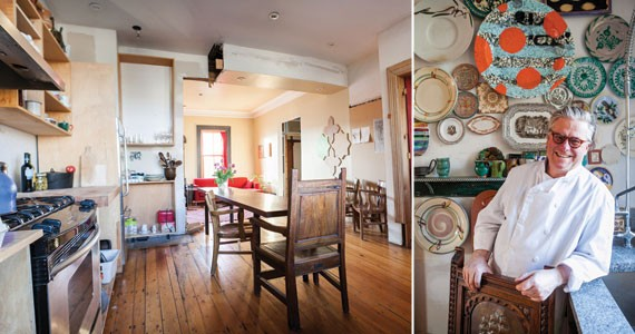The long table can seat more than a dozen for dinner. - SCOTT BLACKBURN