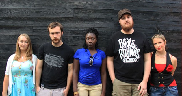 The members of the Halifax Slam Team speak their minds. - PATRICK CAMPBELL