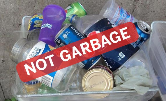 The number-one item improperly disposed of in Halifax is the plastic bottle.