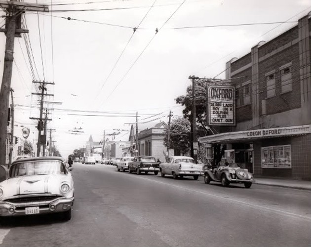The Oxford circa 1957, courtesy of the Nova Scotia Archives
