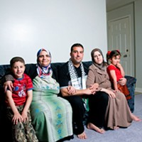 The refugees next door