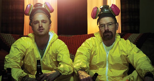 The terrible two of Breaking Bad.