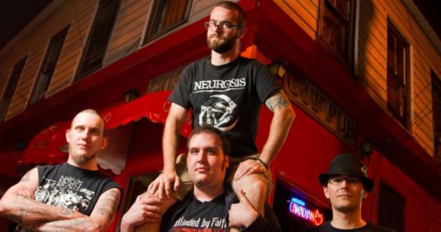 The Thrasfest organizers stand tall for metal. - SCOTT BLACKBURN