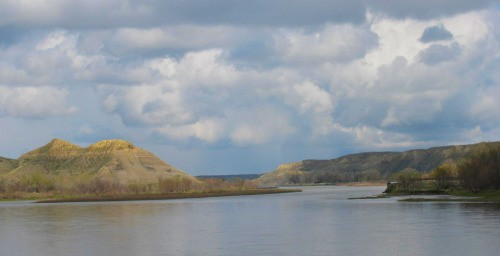 The way ahead: the Missouri River at Fort Benton