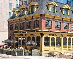 The Wooden Monkey's Grafton Street home.
