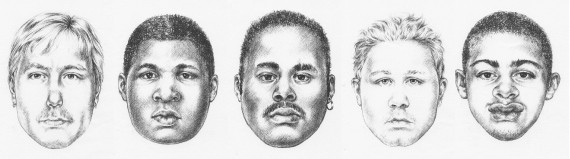 These are the faces of the men police have suspected of killing MacCullough. - HALIFAX REGIONAL POLICE
