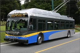 This model of New Flyer bus is what we'll receive here in Halifax.
