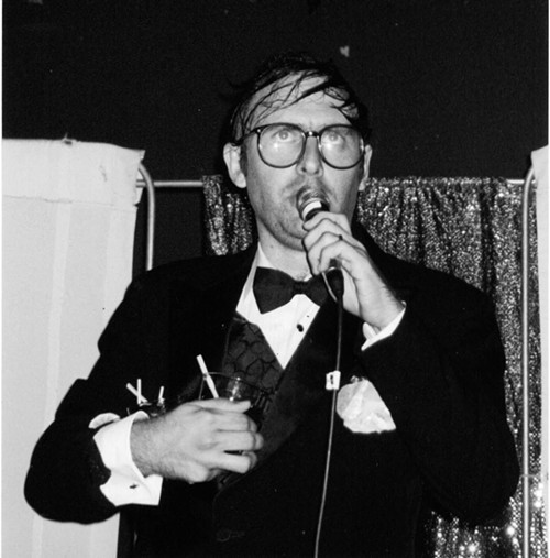this photo has nothing to do with the ECMAs, unless Neil Hamburger is secretly hosting and YOU ARE ALL KEEPING THIS FROM ME. Haarrumpgh!
