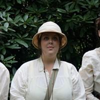 Three bold19th-century ladies explore the globe in On the Verge.