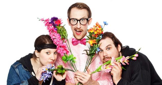 Three's company in Sissydude: a dandy rock musical. - TIMOTHY RICHARD