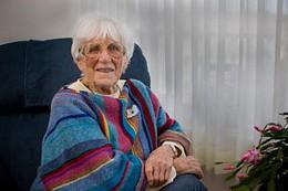 Timeless activist Halifax celebrates Muriel Duckworth's 100th birthday Saturday. photo Riley Smith.